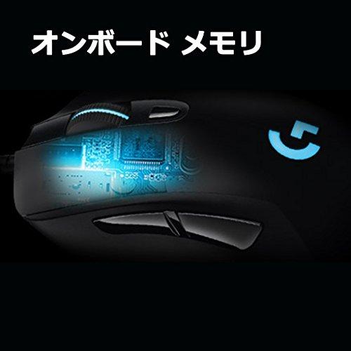 『【PUBG JAPAN SERIES 2018推奨ギア】LOGICOOL ロジクール G403 Prodigy ワイヤレスゲーミングマウス G403WL』の13枚目の画像