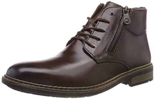 Rieker Herren F1233 Klassische Stiefel, Braun (Havanna 25), 45 EU