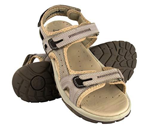 Zerimar sandalen voor dames, trekking, sandalen, dames, trekking, leer, sportief