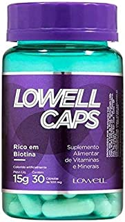 Lowell Caps - Suplemento Alimentar 15g