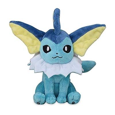 Vaporeon Plush #134 Pokémon Fit Official Gotta Catch 'Em All! from