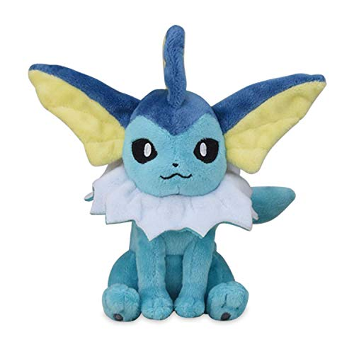 Vaporeon Peluche #134 Pokémon Fit Official Gotta Catch 'Em All!