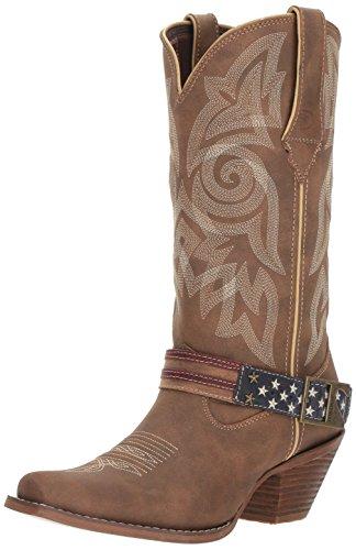 Durango Women's DRD0208 Western Boot, brown khaki, 9.5 M US