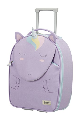 Samsonite Happy Sammies - Upright S Kindergepäck, 45 cm, 24 L, Lila (Unicorn Lily)