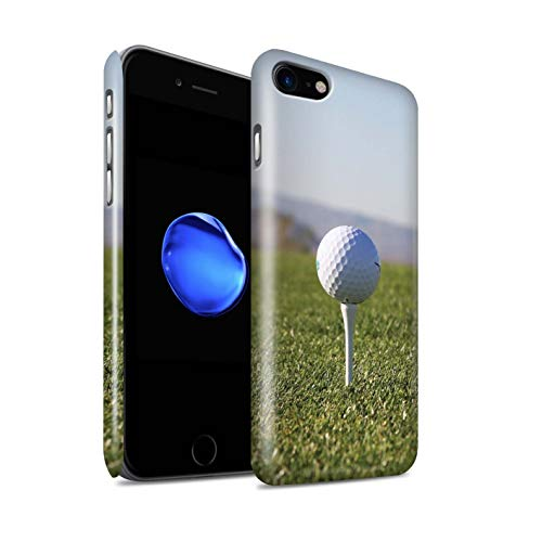 Stuff4 telefoonhoesje/Cover/Skin/IP-3DSWG / Golf Sportfancollectie Apple iPhone SE 2020 Tee omhoog