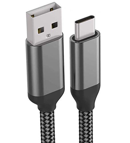 10FT USB C Charger Cable,Fast Charging,Nylon,Power Cord for LG Stylo 6 5 V60 V50 V40 G8X G8 G7 ThinQ Q7,K51,Moto G Stylus Z4 Z3 One,Samsung Galaxy A01 A10e A20 A50 A51 A70,Note 10 9 S20 S10e S10 Plus