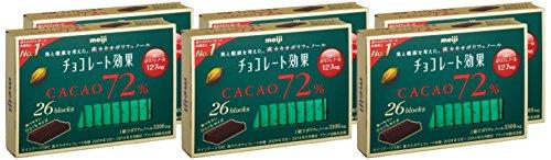 明治『チョコレート効果カカオ72%』