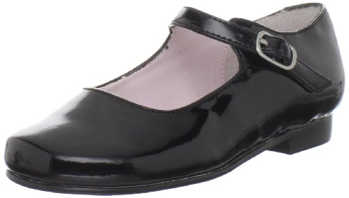 Nina Bonnett Mary Jane (Infant/Toddler), Black Patent, 6 W...