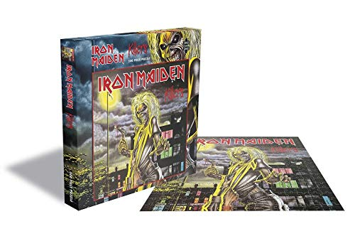 "Rock Saws Iron Maiden ""Killers"" Albumcover Illustration Merchandise 500 Teile Puzzle"