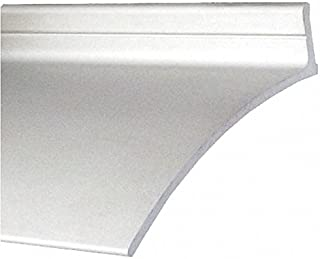 Door Drip Edge, Clear Anodized, 40 in. L
