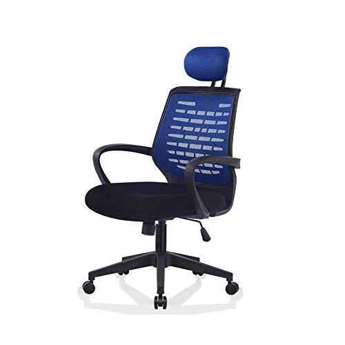 Silla Silla de oficina ordenador personal silla de malla transpirable soporte lumbar ajustable altura del escritorio silla giratoria silla de soporte de peso 150 kg sillas de escritorio