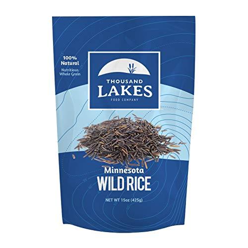 Thousand Lakes Minnesota Grown Wild Rice - 15 ounces   100% Wild Rice   All Natural