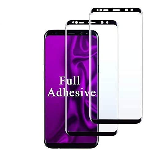 Panzerglas Schutzfolie für Galaxy S8 Plus [2 Stück], 9H Hartglas, Vollständige Abdeckung,Blasenfrei Installation, Displayschutzfolie Panzerglas for Samsung Galaxy S8 Plus