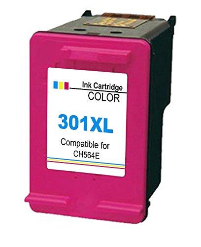 Ink_seller 1 XL Compatibili HP 301XL Cartucce d'inchiostro Sostituzione per DeskJet 1000 1050 1050A