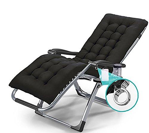 ZCJB Chaise Longue Femmes Enceintes Settee Ménage Siesta Bed Chaise Pliante Bureau Déjeuner Pause Lounge Chaise Daybeds (Couleur : Bleu Marin)
