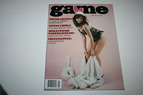 Game Busty Adult Magazine 'Hollywood Underground! Legs and Sex Appeal' March 1979