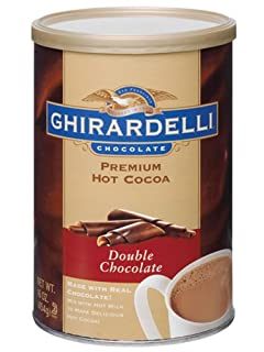 Ghirardelli Chocolate Premium Hot Cocoa Mix, Double Chocolate, 16-Ounce Tins (Pack of 4) (B000H27NU6) | Amazon price tracker / tracking, Amazon price history charts, Amazon price watches, Amazon price drop alerts