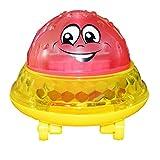 #N/A Juguetes de baño Spray Water Light Gire con Ducha Pool Kids Toys para niños Toddler Swimming Party Bathroom Light Toys