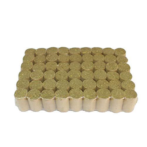 ZXJOY Pellets para ahumar apicultura de abeja, combustible natural colmena, accesorios de apicultura, 54 piezas/108 piezas/162 piezas (1 paquete/54 piezas)