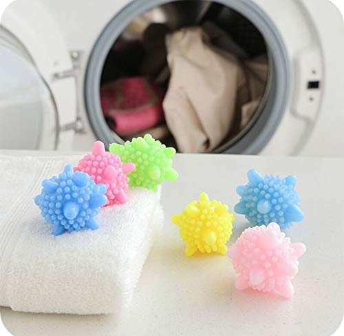 SALON schoonmaken van de keuken JTBBCP 5 PCS Anti-kronkelende Strong Decontaminatie Wasserij bal in wasmachine Starfish Solid Cleaning Ball