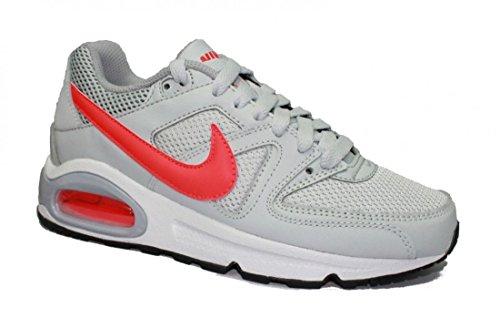 Nike Damen Air Max Command (Gs) Sneaker, Plateado Rojo Gris Pr Pltnm Brght Crmsn WLF Gry, 38 EU