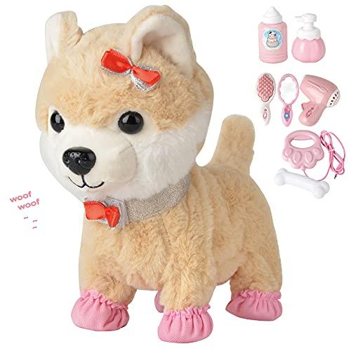 Electronic Walking Plush Dog Toy...