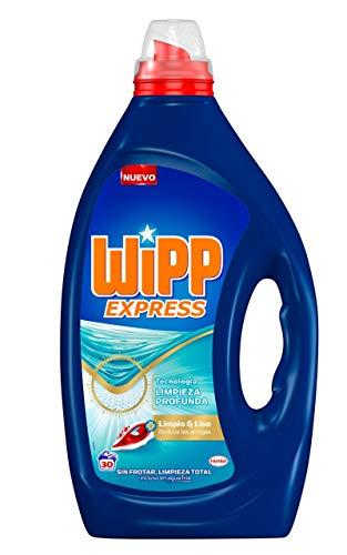 Wipp Express Detergente Lavadora Líquido Limpio & Liso - 30 Lavados (1.5 L)