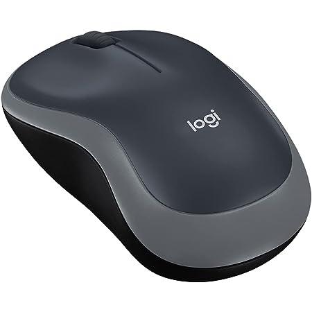 ロジクール ワイヤレスマウス 無線 マウス M185CG 小型 電池寿命最大12ケ月 無線マウス M185 グレー 国内正規品