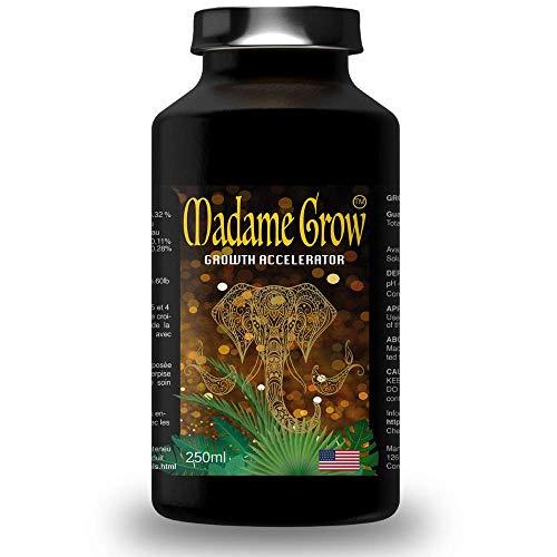 MADAME GROW Cannabis-Düngemittel Wachstum und Blüte - Wachstumsbeschleuniger - (250mL)