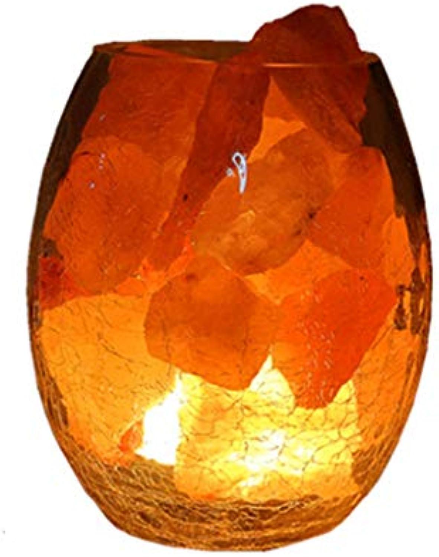 Innenbeleuchtung Steinsalzlampe Salzlampe Kristallsalzlampe LED Tischlampe dimmbar Augenschutz Nachtlicht Schlafzimmer Nachttischlampe Geschenk (Farbe   Photo Farbe, Größe   12  15cm)