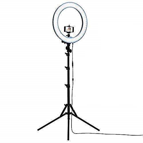 ehook 18 Inches Big LED Ring Light with Stand for Camera, Video Shooting and Makeup