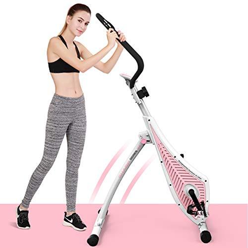 LIJJY Indoor Fitness Radfahren Magnetischen Widerstand Aufrecht Fahrrad Elliptische Maschine Cardio Bergsteigen Fitness Fahrradausrüstung