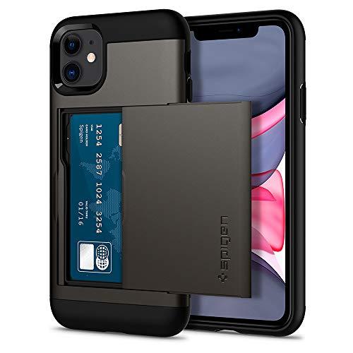 Spigen Funda Slim Armor CS Compatible con iPhone 11 - Bronce