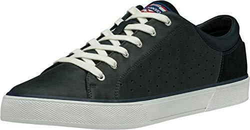 Helly Hansen Herren Copenhagen Leather Shoe 115 Sneaker, Navy/Off White, 46 EU