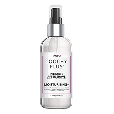COOCHY Intimate After Shave Protection Moisturizer Plus By IntiMD: Delicate Soothing Mist For The Pubic Area & Armpits – Antibacterial & Antioxidant Formula For Razor Burns, Itchiness & Ingrown Hairs