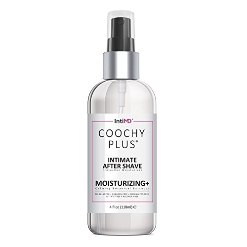 COOCHY Intimate After Shave Protection Moisturizer Plus By IntiMD: Delicate Soothing Mist