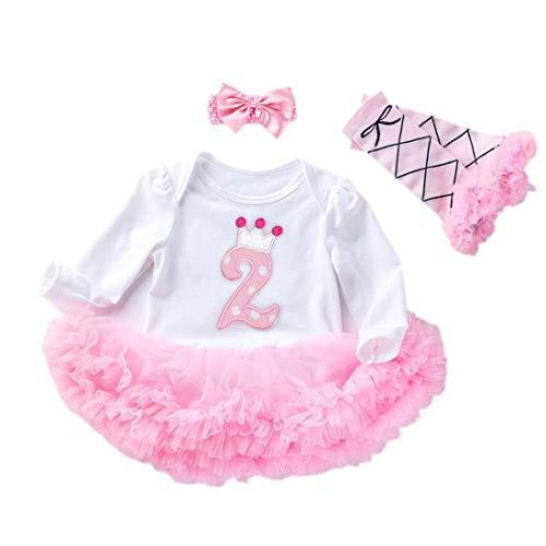 Rosa Foto Fotografie Outfits Baby Kost/üm T/üt/ü Rock Pettiskirt M/ädchen Blumen Stirnband Xinantime