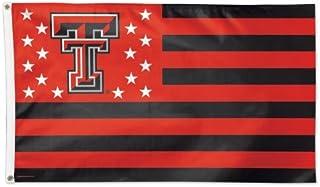 WinCraft NCAA Texas Tech University 13433115 Deluxe Flag, 3` x 5`