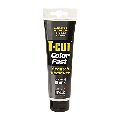 T-Cut Colour Fast Black Car Wax Polish Scratch Remover Colour Enhancer 150g Tube