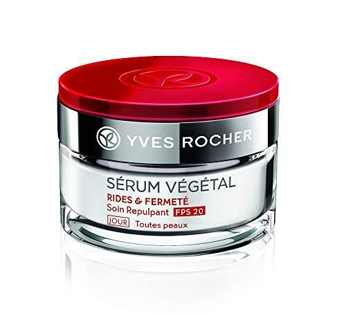 Yves Rocher SÉRUM VÉGÉTAL aufpolsternde Pflege Tag LSF 20, straffende Anti-Aging Gesichtscreme, 1...