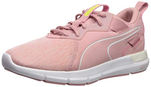 PUMA Women's NRGY Dynamo Sneaker, Bridal Rose White, 7.5 M US