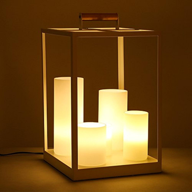 Yu-k minimalistischen Bügeleisen Kerzenleuchten, warmes Licht B071QWNWXD   Vielfältiges neues Design