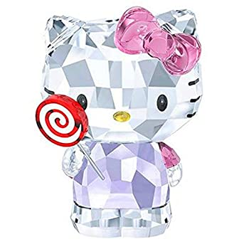 Crystal Cartoon Cat Figurines Car Ornament Cat Aniaml Paperweight Wedding Gift Multicolor Interior,Lady Favor Gift  Purple 2