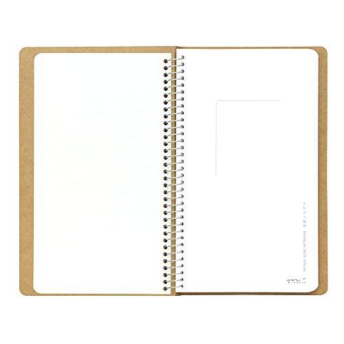 Tan spiral ring notebook Mukei northern polar bear pattern (japan import) Photo #3