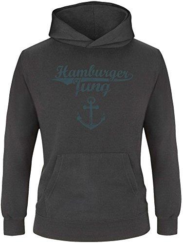 EZYshirt® Hamburger Jung & Deern Vol. 2 Kinder Hoodie | Kinder Kapuzenpullover | Kinder Pullover