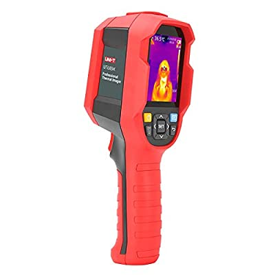 Thermal Imager, UNI-T Infrared Camera High Precision Temperature Tester Infrared Thermometer-PC Software Analysis Type-C USB Interface-Real-time Image Transmission (UTi165K)