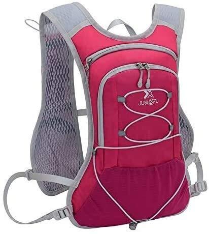 Chop your ya Deportes al aire libre en ejecución bolsa ultraligero, equitación, bicicleta todo terreno hidratación mochila maratón Chop your ya (Color : Rosy)