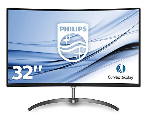 Philips 327E8QJAB - Monitor de 32' FHD (resolucion 1920 x 1080, IPS, VESA, Altavoces, HDMI, Displayport)