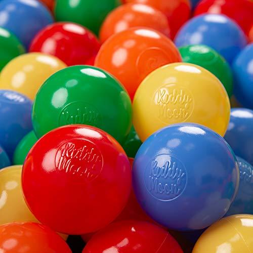 KiddyMoon 200 ∅ 6Cm Bolas Colores De Plástico para Piscina Certificadas para...