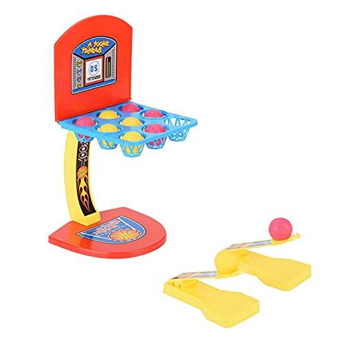 Juguete de Tiro de Baloncesto Juego de Tiro en Interiores Juego de Juegos en Interiores para Padres e Hijos ABS Mini Atractivo para la interacción Entre Padres e Hijos